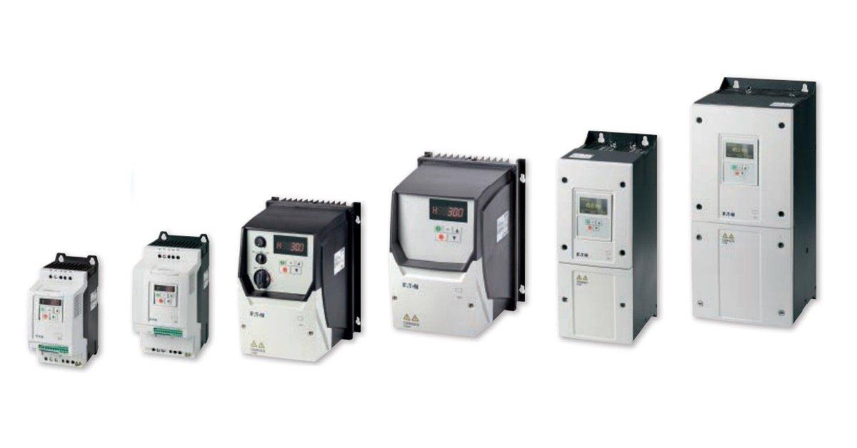 Przemienniki częstotliwości, falowniki EATON DA1 (1,1 kW - 90 kW)