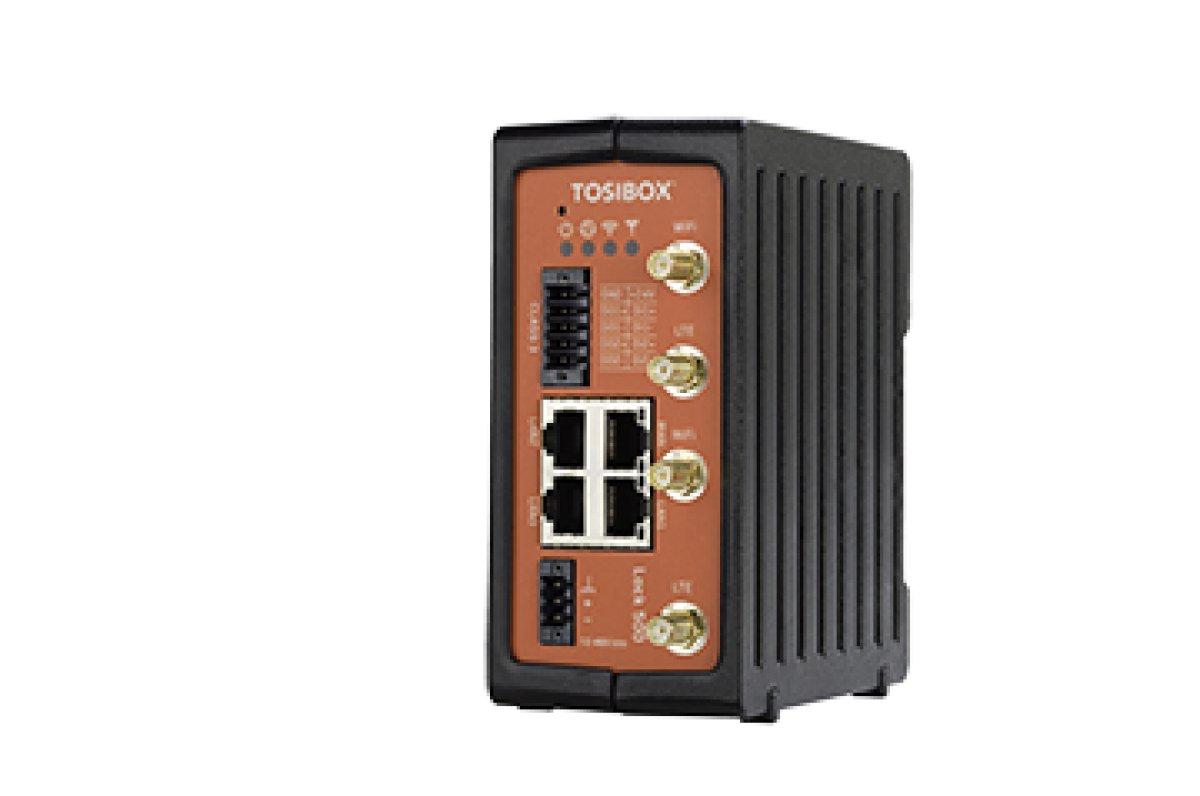 Tosibox Lock 500 - zdalny dostęp do maszyn i sieci przemysłowych