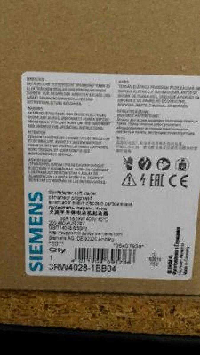 Softstarty SIEMENS 55kW/ 18,5kW/ 11kW