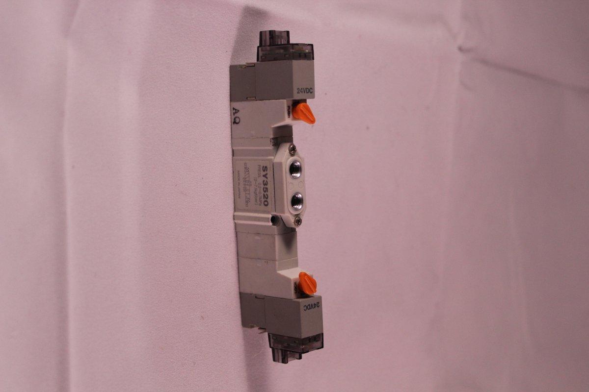 Elektrozawór rozdzielający 5/2 serii SY3520