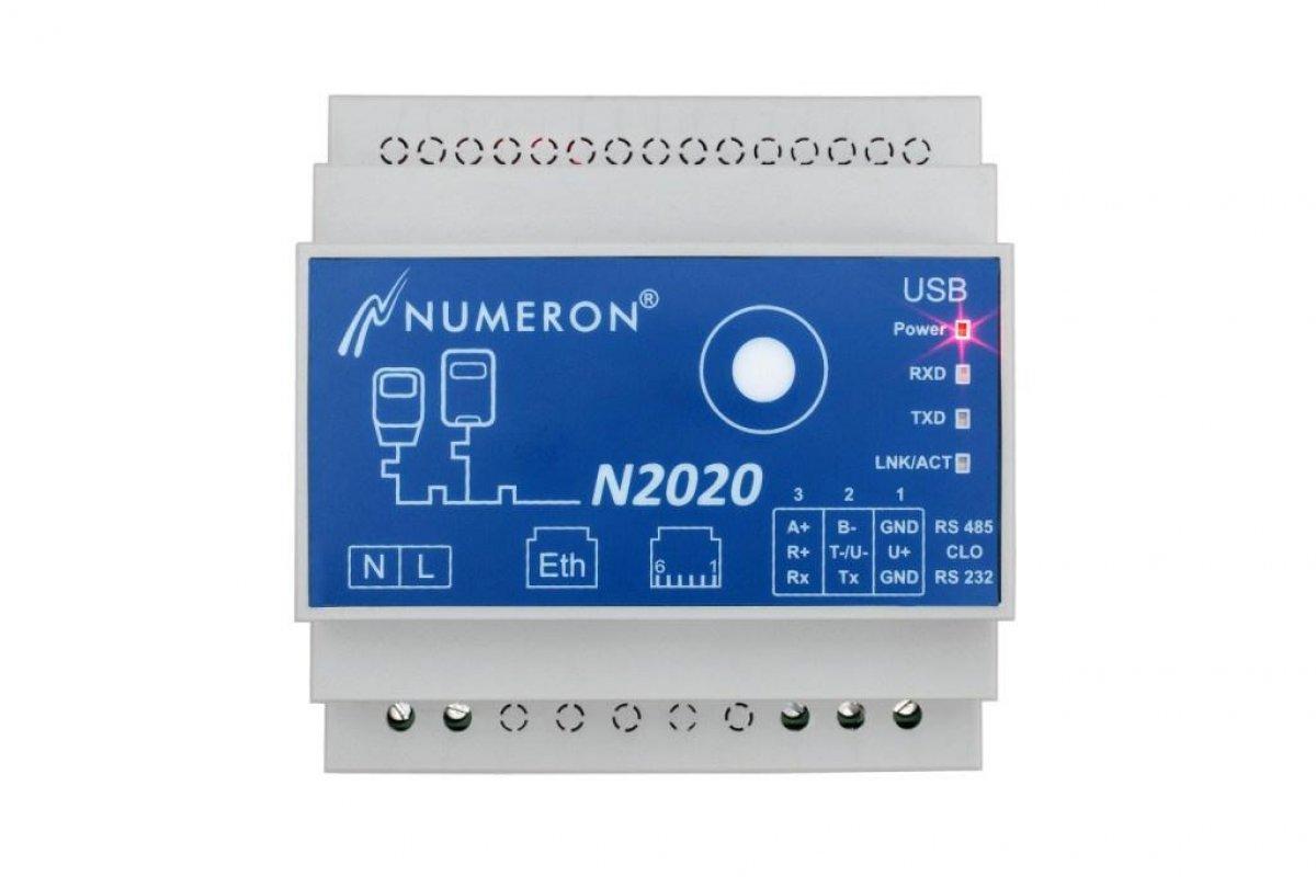 Serwer odczytu liczników, konwerter IEC-Modbus, konwerter serial-Ethernet, serwer Node-RED (IoT)