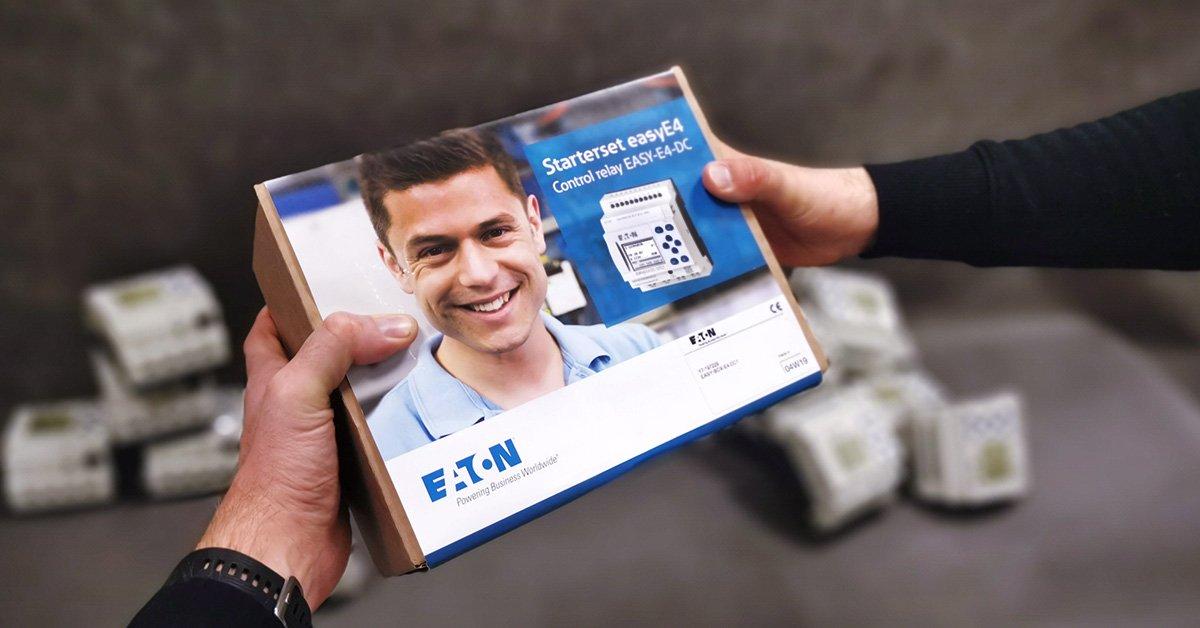 Zestaw startowy sterownik easyE4 + licencja easySoft7 | Promocja dla firm