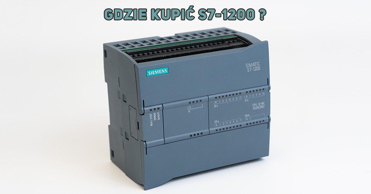 Sterownik SIMATIC S7-1200 - rozszerzenia i akcesoria - zapytaj o ofertę