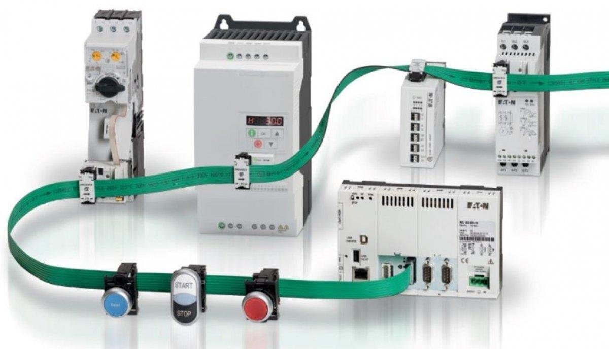 SmartWire-DT EATON, gateway, styczniki, aparatura, zasilacze, t-connectory, we/wy