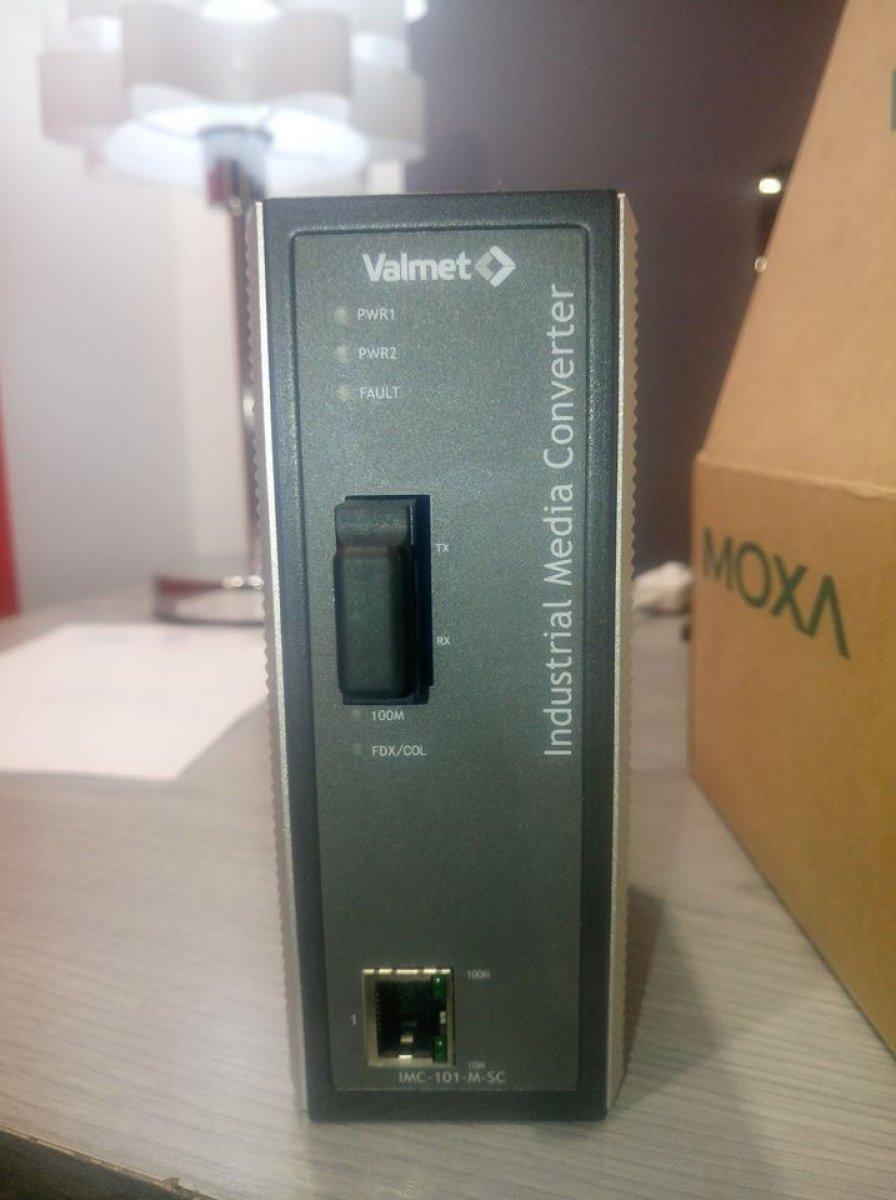 MOXA Media konwerter IMC-101-M-SC VALMET