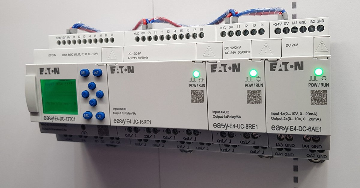 Sterownik programowalny easyE4 EATON oraz rozszerzenia i akcesoria - Promocja -40%