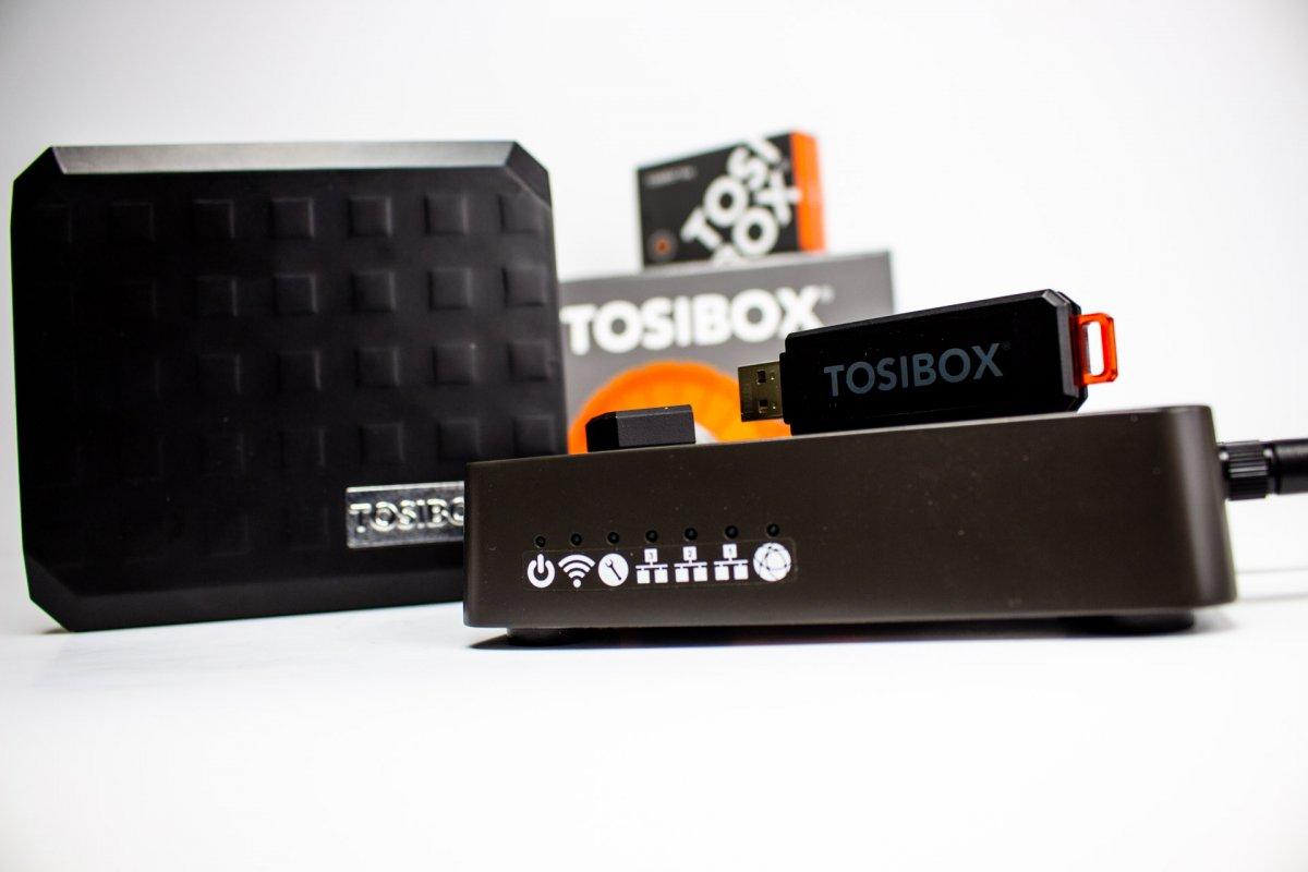 TOSIBOX Lock 100 - zdalny dostęp do maszyn i sieci przemysłowych