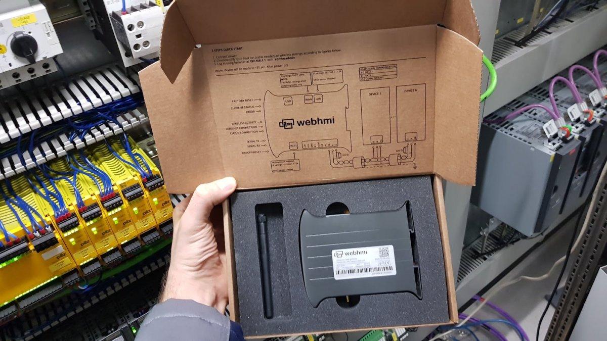 WebHMI - multisterownik SCADA w niskiej cenie