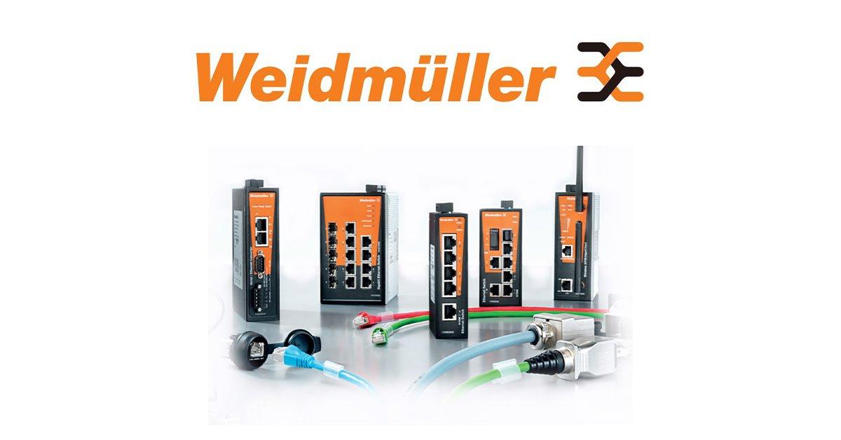 Weidmüller - wyspy I/O, zdalny dostęp, zasilacze, złączki, narzędzia, itd - zapytaj o ofertę