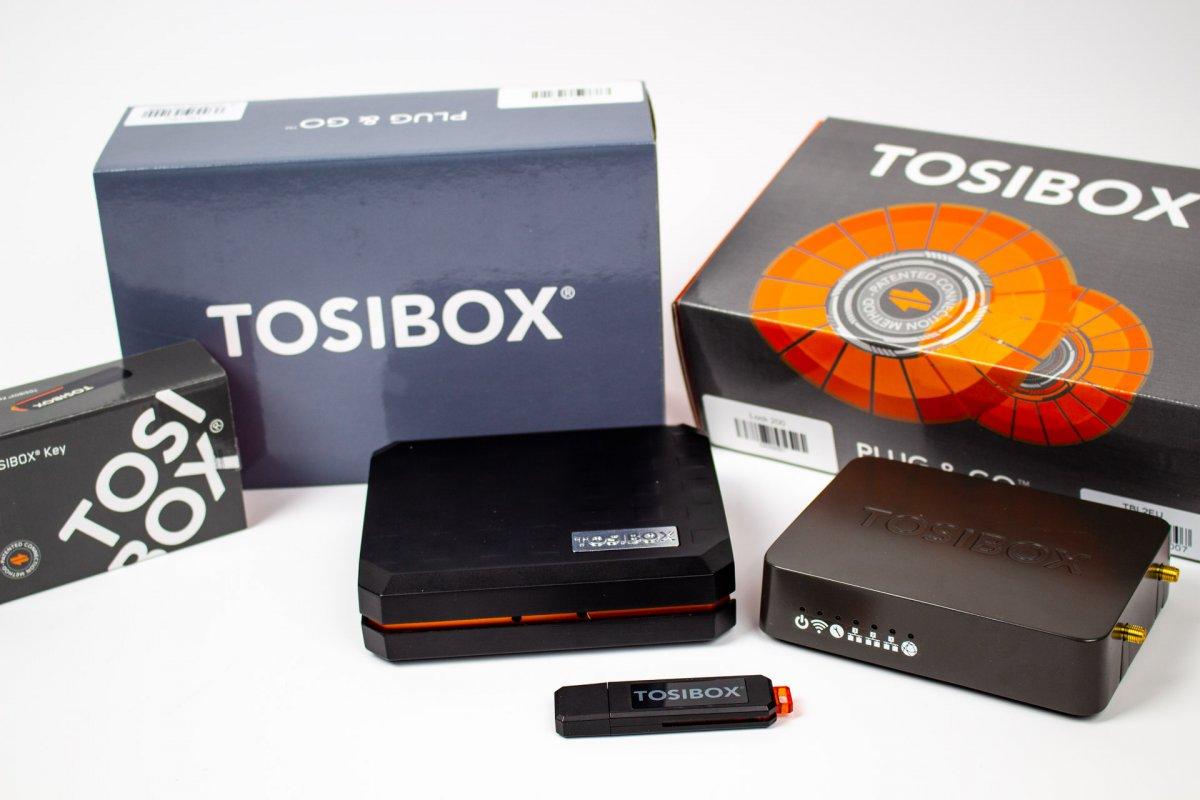 Tosibox Key z licencją mobilną- klucz do zdalnego dostępu