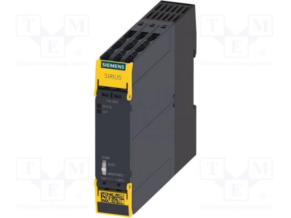 Moduł: przekaźnik bezpieczeństwa SIEMENS 3SK1111-1AB30