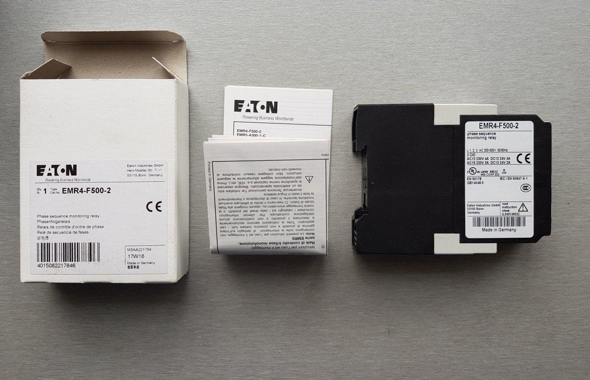 Eaton Electric EMR4-F500-2 przekaźnik kontroli faz - NOWY