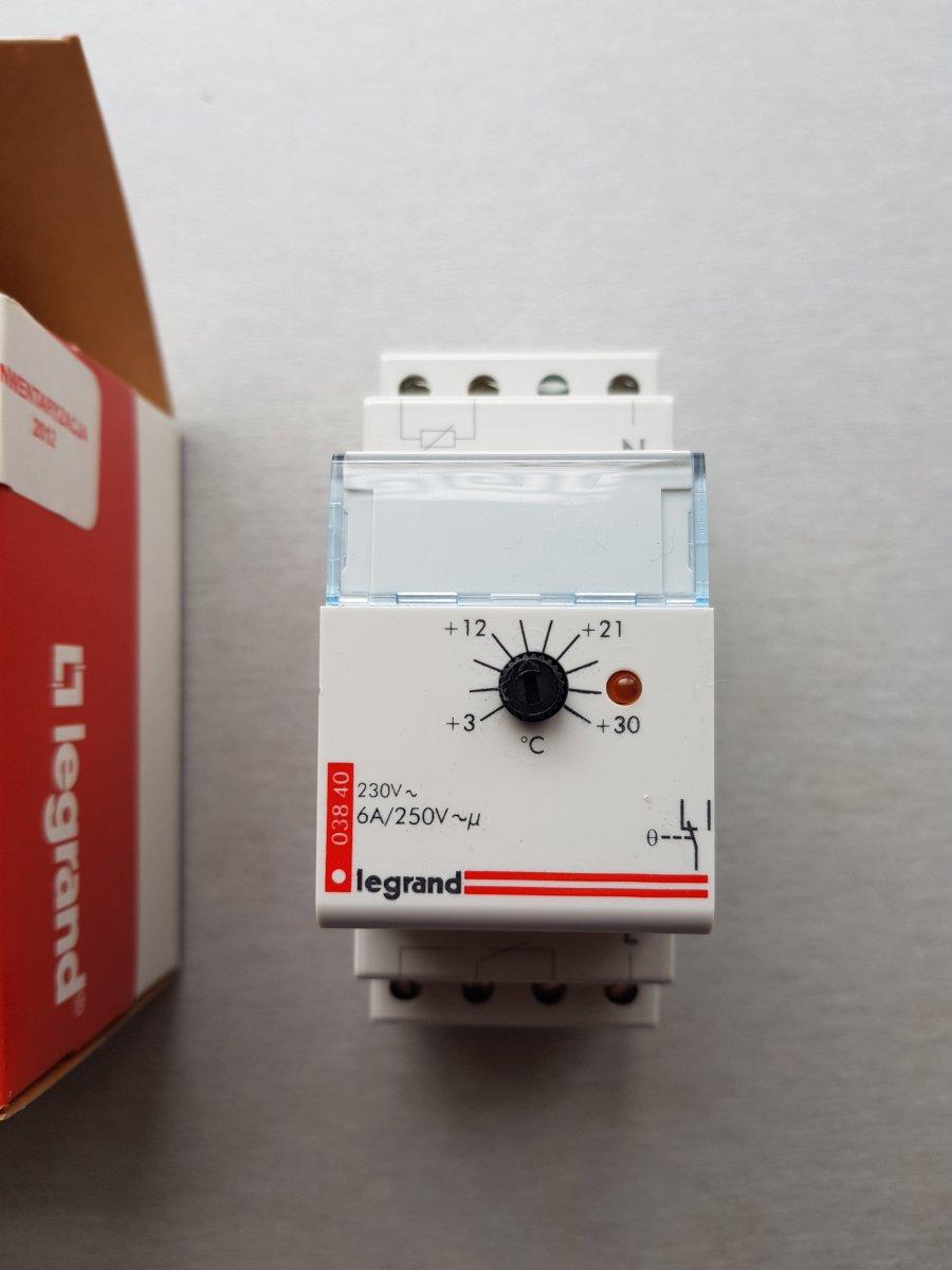Legrand Termostat 003840 - Nowy w pudełku