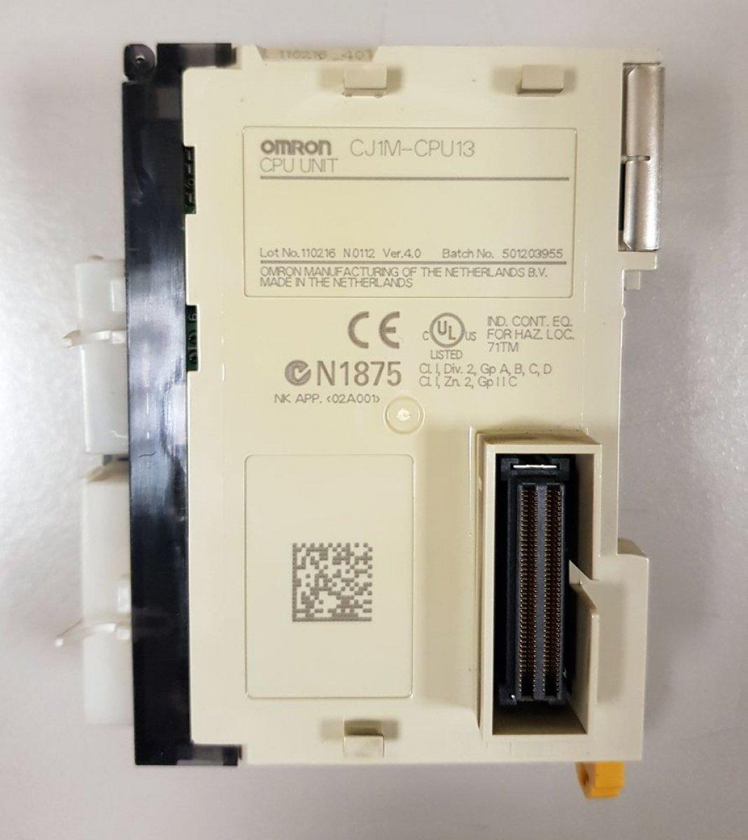 Sterownik PLC Omron CJ1M-CPU13
