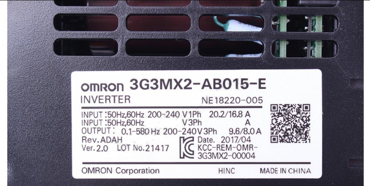 FALOWNIK 3G3MX2-AB015-E 1x200-240V 400HZ 1,5KW WEKTOROWY