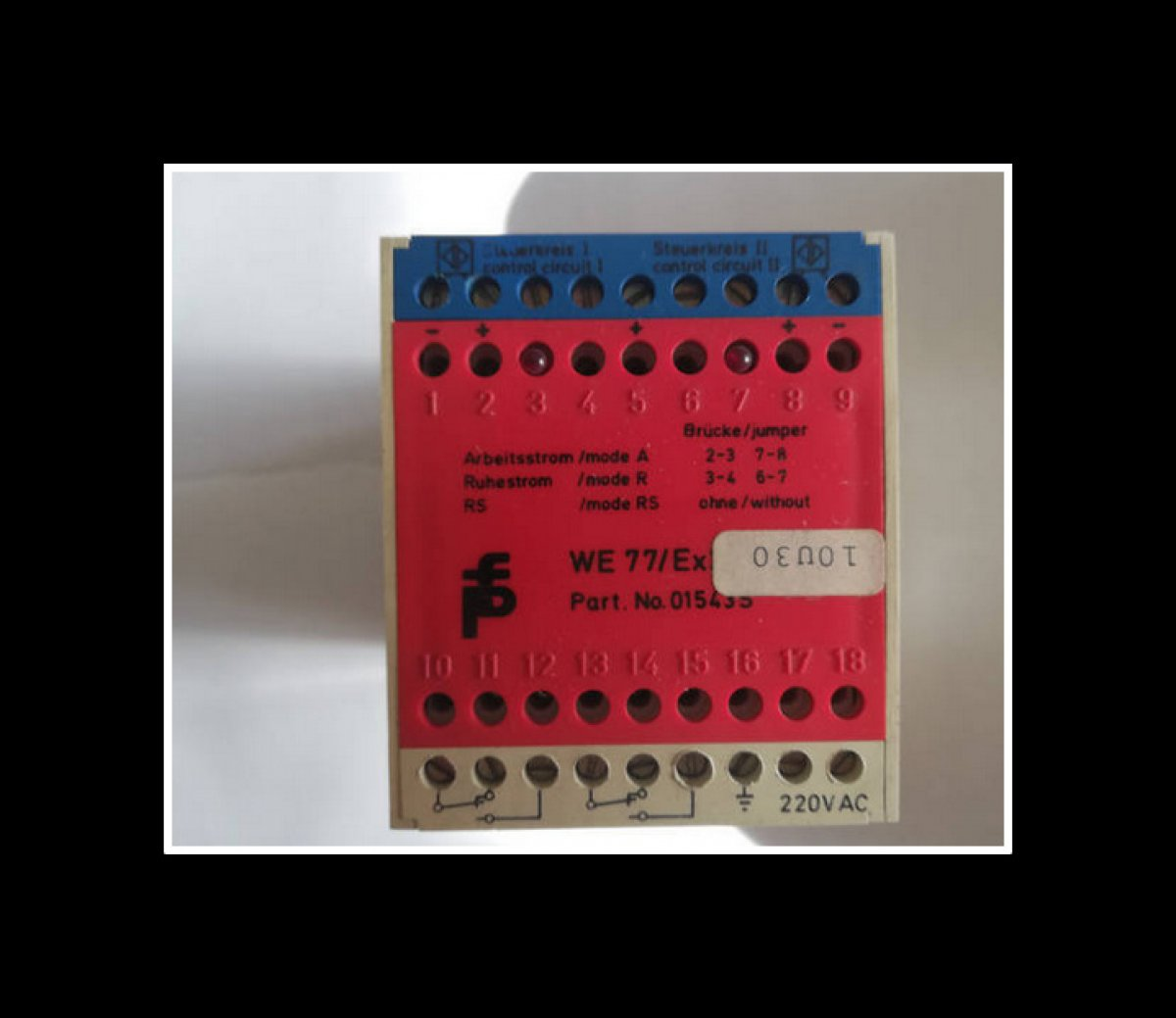 Pepperl+Fuchs WE 77/EX-2