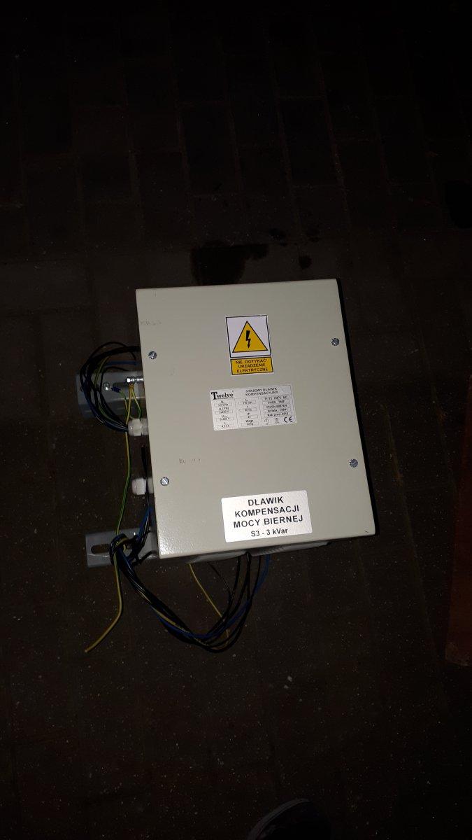 układ kompensacji energi biernej bateria kondensatorow dławiki kplt. TVELVE BK-T-3f