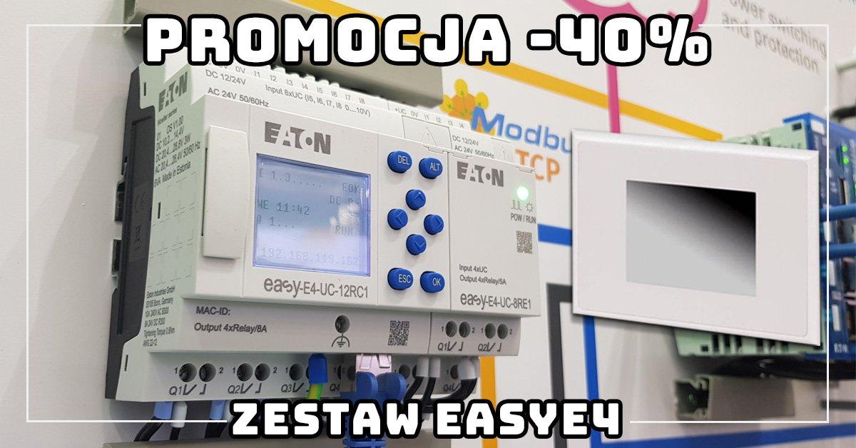 Promocja -40% na zestawy easyE4