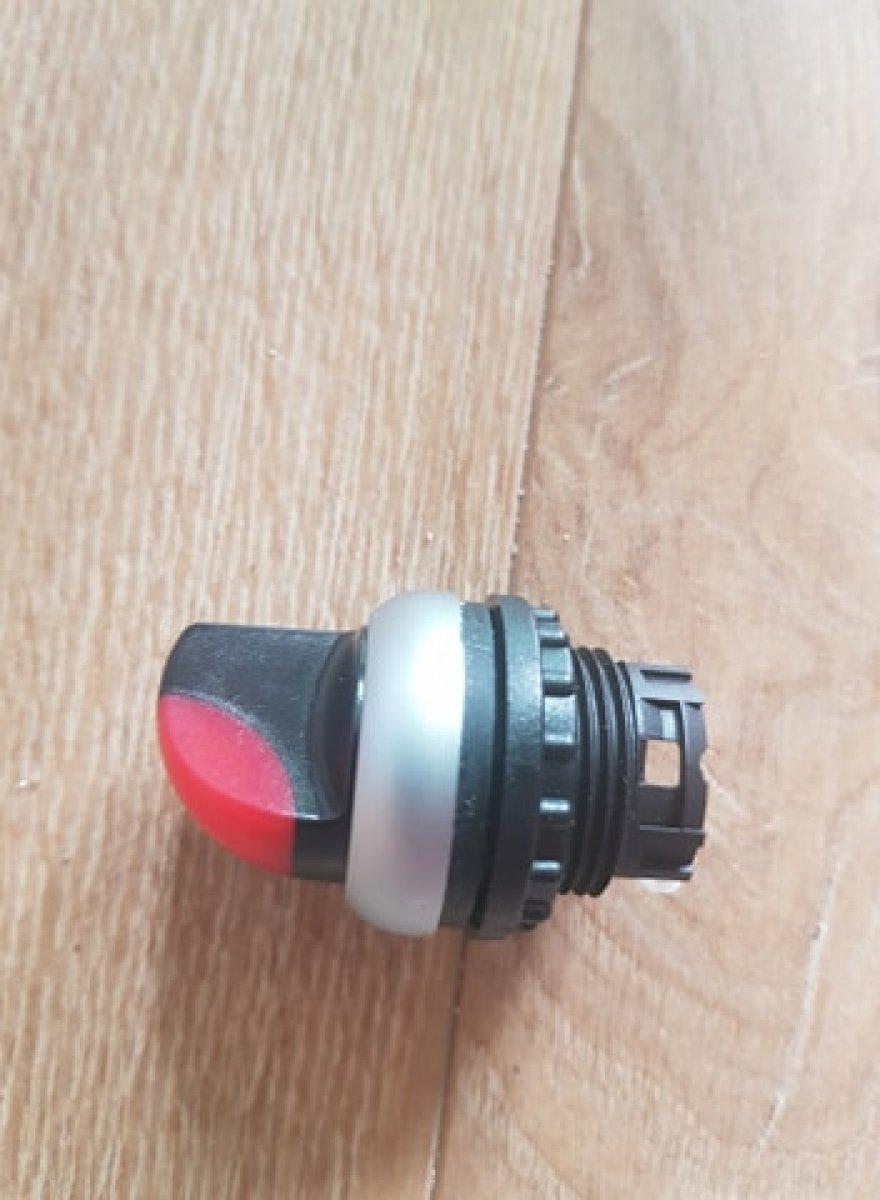 Podświetlany przełącznik pozycyjny Eaton 216825 - M22-WRLK-R