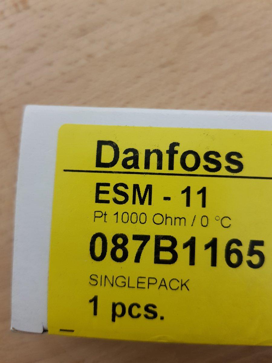 Czujnik temperatury powierzchniowy ESM-11 - Danfoss, nr katalog. 087B1165