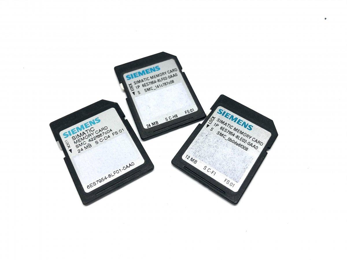 SIMATIC Memory Card Karty Pamięci dla PLC S7-1200 i S7-1500