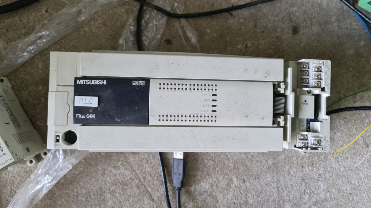 Sterownik Mitsubishi FX3U-64m