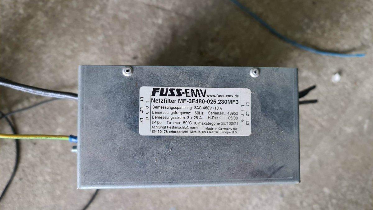 Filtr EMC MF-3F480-025.230MF3
