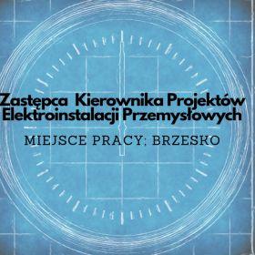 Zastępca Kierownika Projektów Elektroinstalacji Przemysłowych