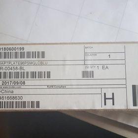 Uzbrojona płyta czołowa WPS 24 X QUAD LC SM 1U Grafitowa