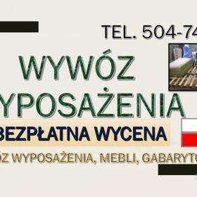 Wywóz mebli, Wrocław, tel. 504-746-203, utylizacja,starych,mebli,odbiór,gratów.Sprzątanie piwnic, działek, strychów. opróżnianie, utylizacja, odbiór