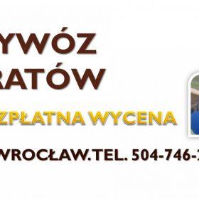 Opróżnianie mieszkań po zbieraczach, tel. 504-746-203,Wrocław. Po osobach bezdomnych, melinach.