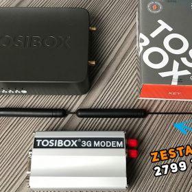 TOSIBOX - zdalny dostęp do sieci przemysłowej - zestaw startowy | Tosibox Lock 100 + Key + Modem 3G