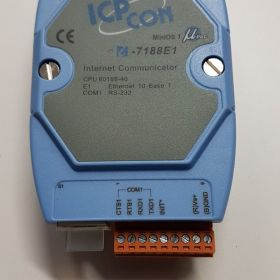Konwerter ICP DAS z interfejsami: 1 x 10 BaseT Ethernet i 1 x RS-232