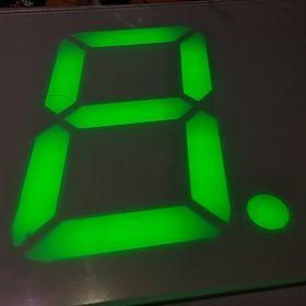 Wyświetlacz Cyfrowy MODBUS RGB 4 cyfry