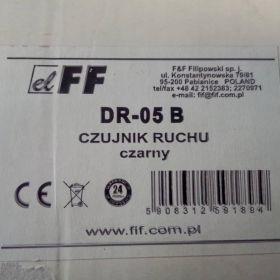 Czujnik ruchu /czarny  DR-05 B