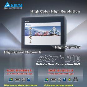 Szkolenie, Interfejs HMI Delta Electronics DOP-B, Wernicki