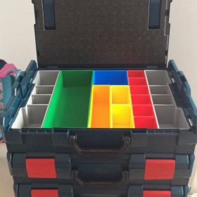 5 X WALIZKA L-BOXX 102 BOSCH 5x 13 POJEMNIKÓW na osprzęt
