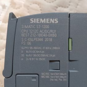 SIEMENS S7 1200 1212C AC/DC/RLY