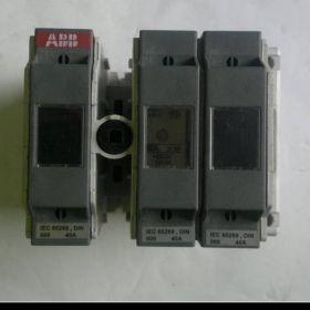 Rozłącznik bezpiecznikowy ABB, prąd - 40A