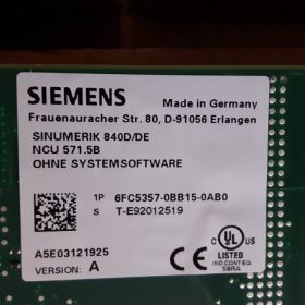 Siemens SINUMERIK 6FC5357-0BB15-0AB0