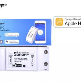 Sonoff Basic Apple HomeKit wyjście bezpotencjałowe