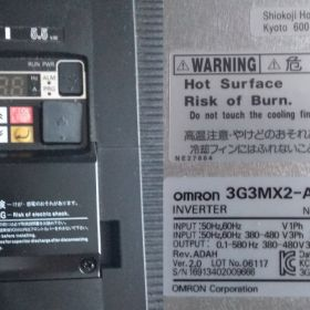 Omron Przekształtnik częstotliwości, MX2 5,5 kW 1000Hz 3-fazowy 400 V AC 14,8 A IP20 Silnik AC 5,5 kW