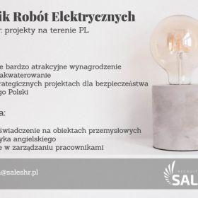 Kierownik Robót Elektrycznych - Strategiczne projekty energetyczne