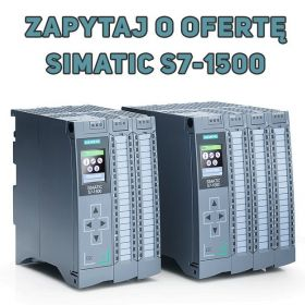 Sterownik SIMATIC S7-1500 - zapytaj o ofertę