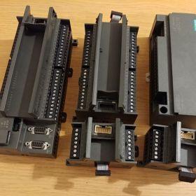 SIEMENS S7-300, S7-200 + moduły i zasilacz