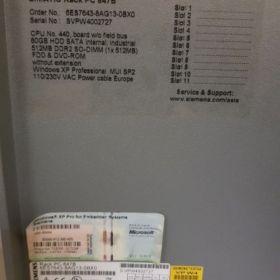 Siemens Simatic Rack PC 847B 6ES7643-8AG13-0XB0