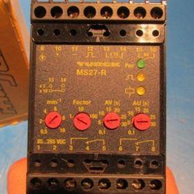 Jednokanałowy przetwornik prędkości obrotowej TURCK MS27-R