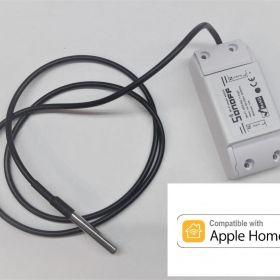 Sonoff + DS18B20 HomeKit termostat bezpotencjałowy