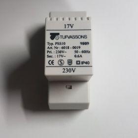 Transformator ochronny Tufvassons pss10 17V