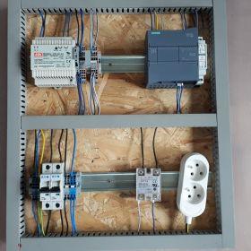 Stanowisko dydaktyczne Siemens